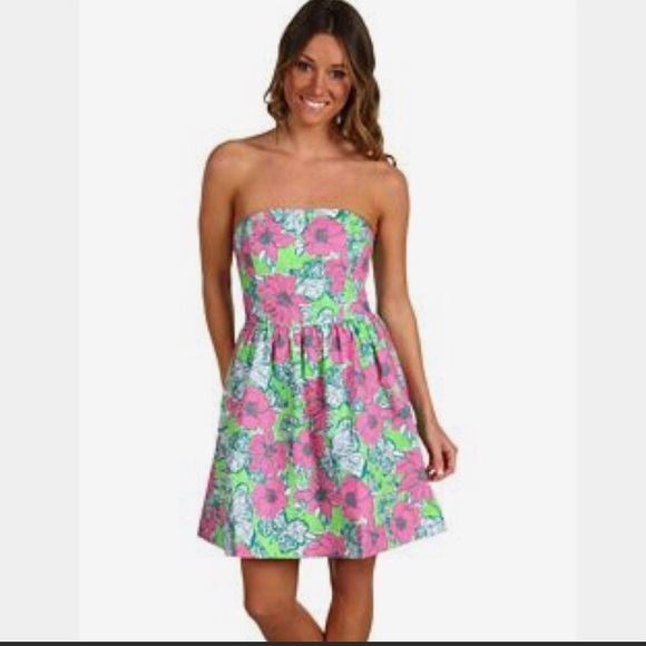 Lilly Pulitzer Lottie Dress 10 EUC
